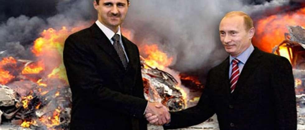 روسيا توافق على طلب الأسد إرسال قوات دعم