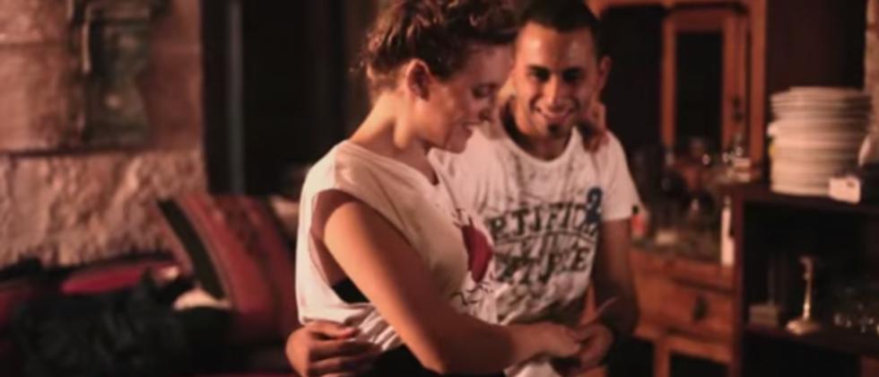 Members of the Beit Jala swing dancing group ( YouTube )