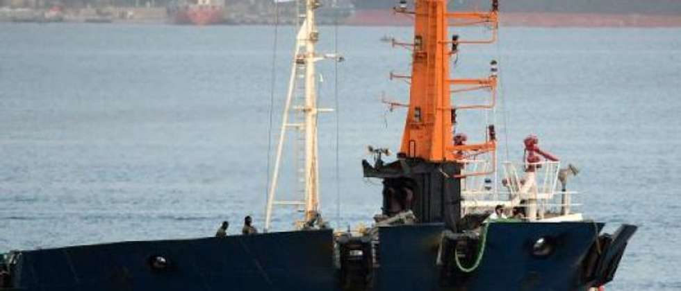 Klos C vessel intercepted by Israel en route from Iran to Sudan in March 2014 (  )