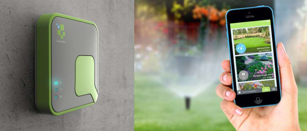 The Greenbox system allows you to water your garden from your smartphone ( Courtesy )