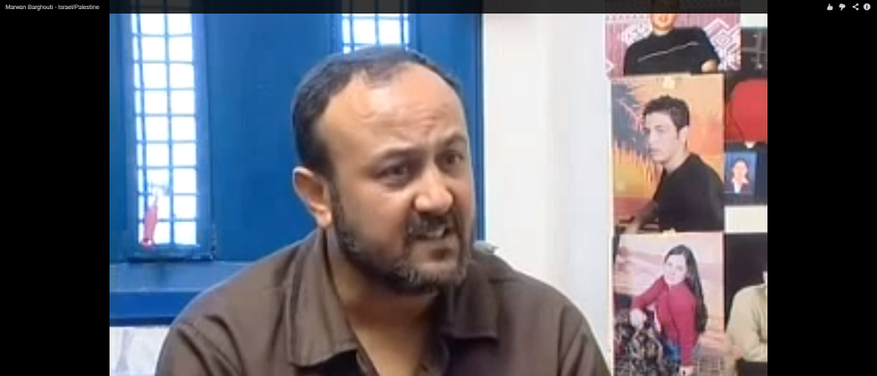 Marwan Barghouti ( Youtube screen capture )