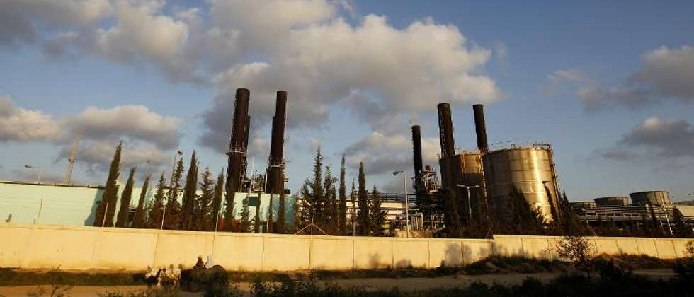 A view of the Gaza Strip's sole power plant in Nusairat taken on March 26, 2012 ( Mohammed Abed (AFP/File) )