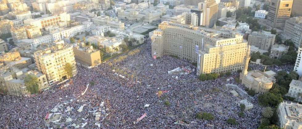 Tahrir Square demonstration in Cairo, August 2011 ( AFP )