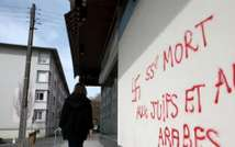 Agen mars 2014 - Graffiti antisémite et islamophobe (DR)