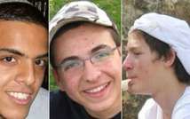 The three missing teens, from left to right: Eyal Yifrach, Gil-ad Shaar and Naftali Frenkel  June 14 2014 (  )
