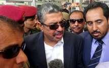 خالد بحاح نائب الرئيس اليمني هادي يصل إلى عدن (رويترز)