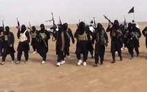 Islamic State militants in Anbar Province, Iraq (AFP)