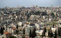 A view of the Sheikh Jarrah/Shimon HaTzadik neighborhood in East Jerusalem ( Wikipedia )