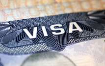 Visa américain (  )