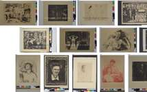 Art works by Edvard Munch, believed to have been seized by the Nazis, are put on the German Federal official website www.lostart.de  ( - (LOSTART.DE/STAATSANWALTSCHAFT AU/AFP) )