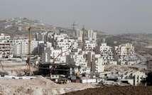 The construction site at the Jewish settlement of Har Homa in east Jerusalem on December 20, 2012 ( Ahmad Gharabli (AFP/File) )