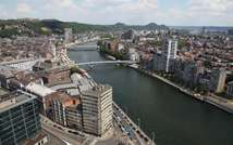 Aerial view of Liege and the River Meuse ( Belga/AFP/File )