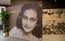 The entrance of the Anne Frank Center USA is seen on March 26, 2012 in New York City ( Andrew Burton (Getty/AFP/File) )