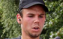Picture released on March 27, 2015 shows the co-pilot of Germanwings flight 4U9525, Andreas Lubitz, on September 13, 2009 in Hamburg ( Foto Team Mueller/AFP/File )