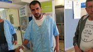 credits/photos : A patient votes at Soroka Medical Center in Be'er Sheba