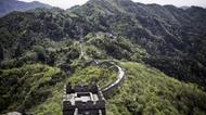 credits/photos : Part of the Great Wall of China is seen in Mutianyu, near in Beijing.