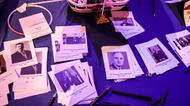 credits/photos : A table is set up for election themed games at the US embassy election party in Tel Aviv on November 8, 2016