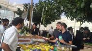 crédits/photos : L'etrog (cédrat), au loulav (palme de dattier), au hadass (branche de myrte) et à l'arava (branche de saule) font partie de la tradition rabbinique