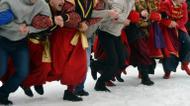"ائتمانات/صور : Ukrainian Cossack songs have been added to UNESCO's protected ""Intangible Cultural Heritage"" list"