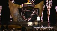 credits/photos : L'animateur des Emmys Jimmy Kimmel lors de la cérémonie au Microsoft Theatre, le 18 septembre 2016 à Los Angeles