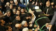 crédits/photos : Mourners gather around the coffin of former Iranian president Akbar Hashemi Rafsanjani during a ceremony at the Jamaran mosque in Tehran, on January 9, 2017