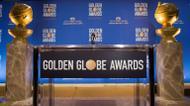 crédits/photos : Le pupitre où sont annoncées les nominations des Golden Globes à Belverly Hills en Californie, le 12 décembre 2016