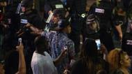ائتمانات/صور : Tensions entre manifestants et forces de l'ordre lors d'une manifestation contre les violences policières, le 21 septembre 2016 à Charlotte, en Caroline du Nord