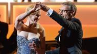 ائتمانات/صور : L'acteur Lambert Wilson dansant une rumba avec Nicole Kidman durant la cérémonie d'ouverture du 67e festival de cannes le 14 mai 2014