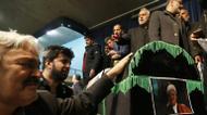 crédits/photos : Des Iraniens se recueillent devant le cercueil de l'ancien président Akbar Hachémi Rafsandjani, à la mosquée Jamaran, le 9 janvier 2017 à Téhéran