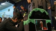crédits/photos : Mourners gather around the coffin of former Iranian president Akbar Hashemi Rafsanjani during a mourning ceremony in Tehran, on January 9, 2017