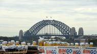 credits/photos : Fireworks arrive on a barge to the Sydney Harbour ahead of New Year's Eve extravaganza