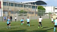 credits/photos : 'Germany' play 'Argentina' at the Soccer for Peace Summer camp