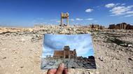 credits/photos : Ruins of the Temple of Bel in Palmyra