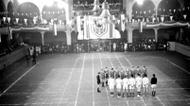 credits/photos : Handball match at the Maccabiah, November-December 1936, Berlin, Germany