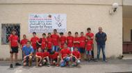 credits/photos : Participants in the 2016 Soccer for Peace summer camp