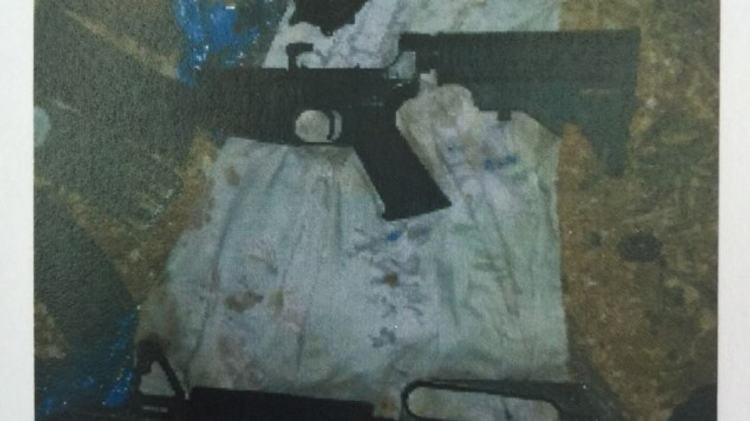 Weapons held by a Hamas cell near Hebron that was planning a shooting attack against Israelis