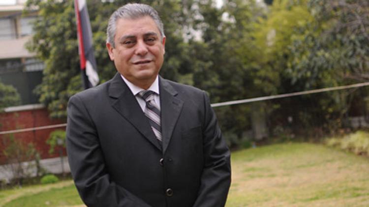 Hazem Khairat, Egypt's new ambassador to Israel