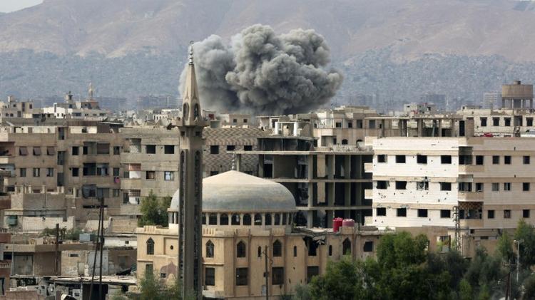 Sept enfants tués par des tirs rebelles à Alep-ouest — Syrie
