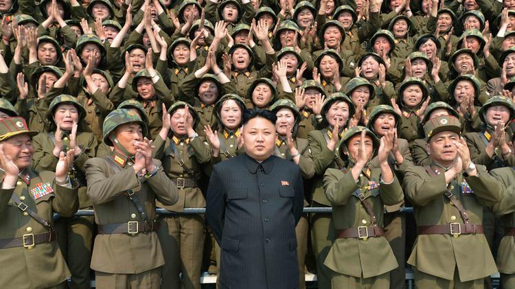 Troupes de Corée du Nord