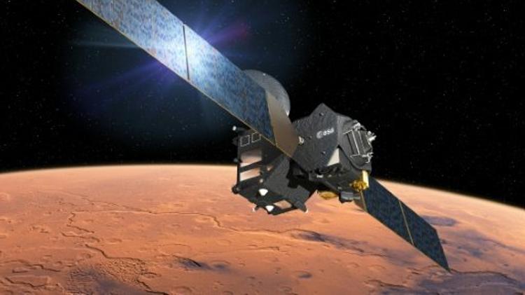 """مسبار """"سكياباريلي"""" االأوروبي بدأ بعملية الهبوط على سطح المريخ"""