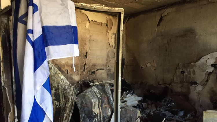 Fire engulfing Haifa in northern Israel completely destroyed the home of local resident Ariana Rottman.