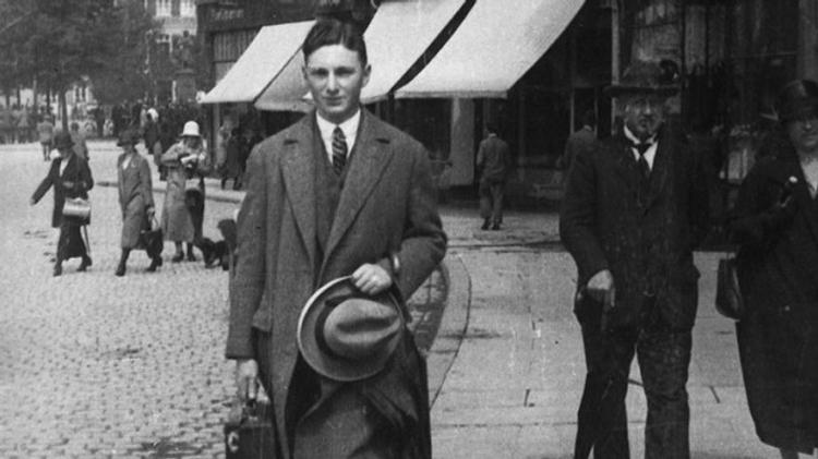 German-Jewish art deal Max Stern in Berlin circa 1925.