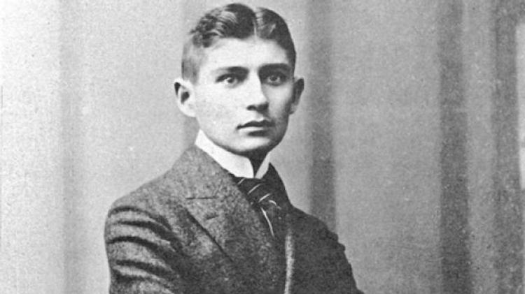 Le géant de la littérature tchèque Franz Kafka