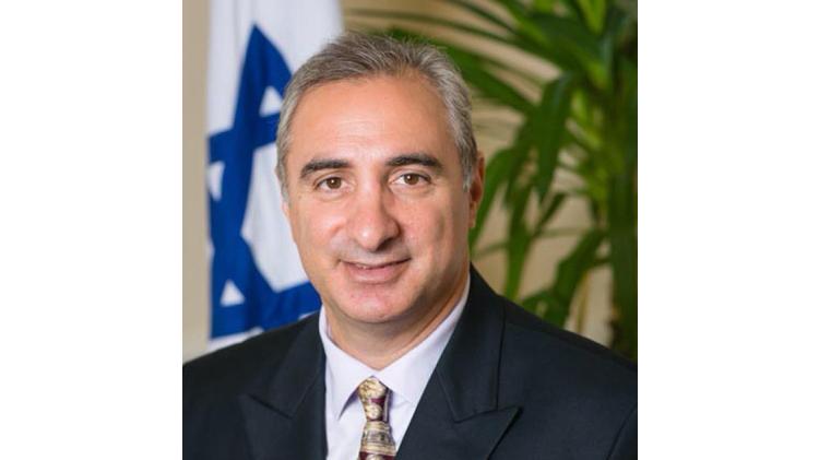 Eitan Na'eh, the new Israeli ambassador to Turkey