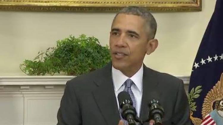 Barack Obama à la Maison Blanche le 23 février 2016