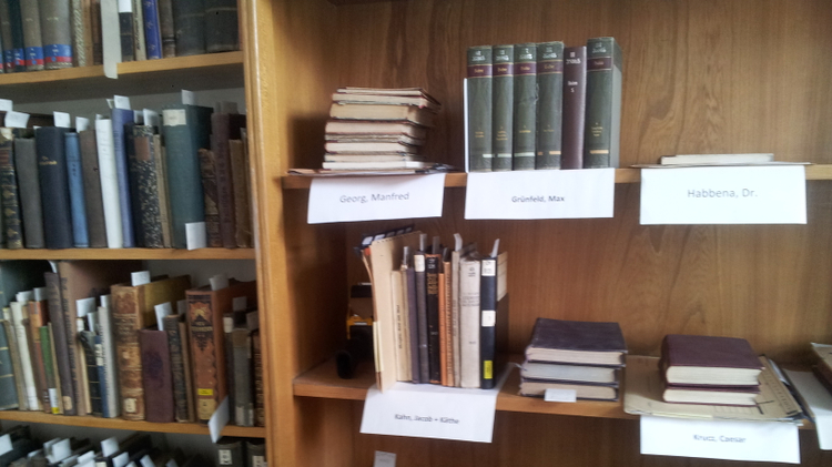 Jewish books in Hamburg University Library