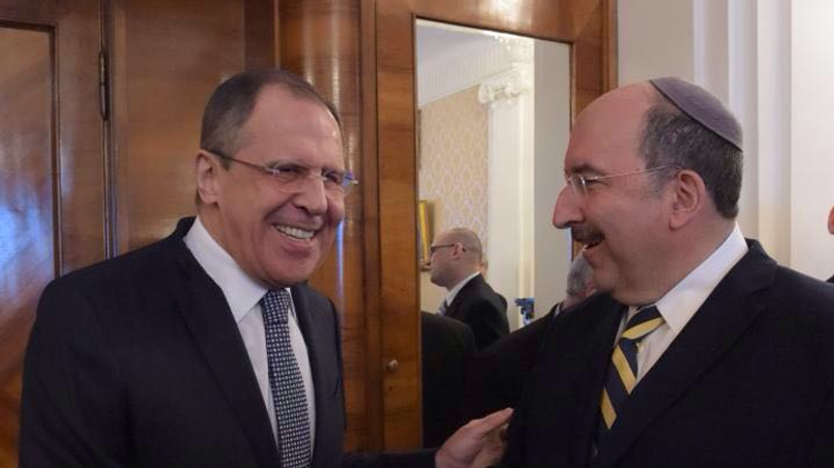 MFA Director General Dore Gold with Russian Foreign Minister Lavrov