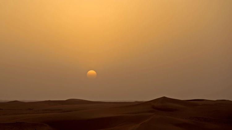 Le désert saoudien