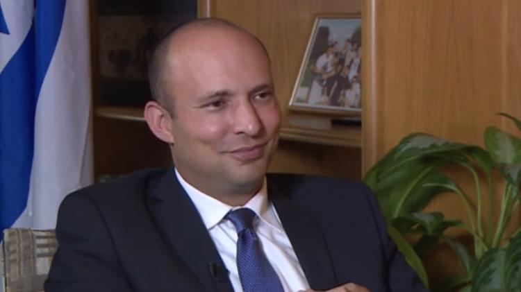 Israeli Education Minister Naftali Bennett