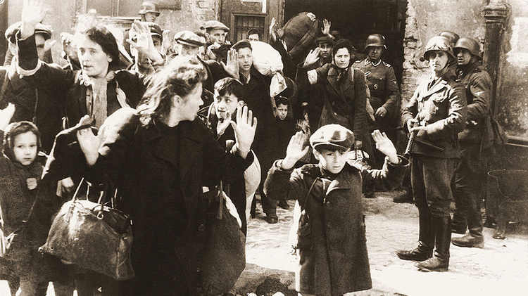 An image from the Warsaw Ghetto